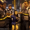 Though prostitution in Peru is not illegal, many transwomen are frequently arrested in police raids. After trying to run away, Kiara is held by officers, who will take her to a police station for questioning. According to a study by Lima's Cayetano Heredia University, the police force and the Catholic church are the two most homophobic institutions in Peru.