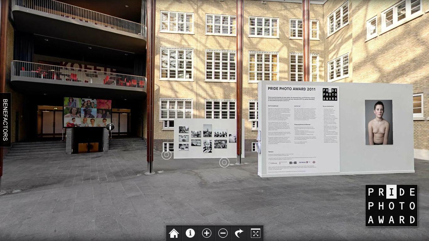 Screencap virtual exhibition PPA 2011
