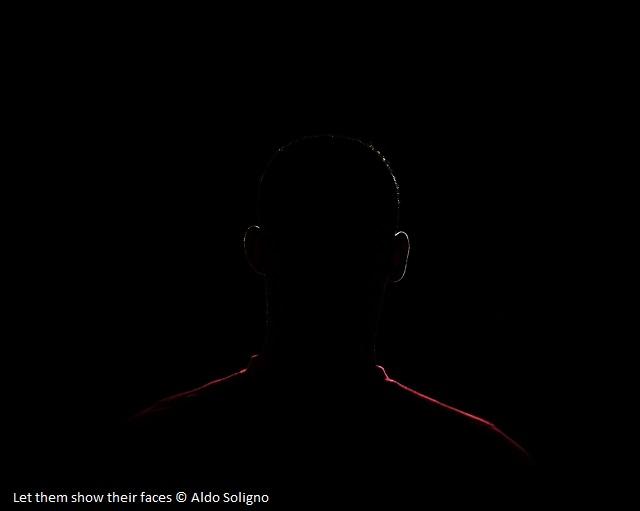Let them show their faces © Aldo Soligno