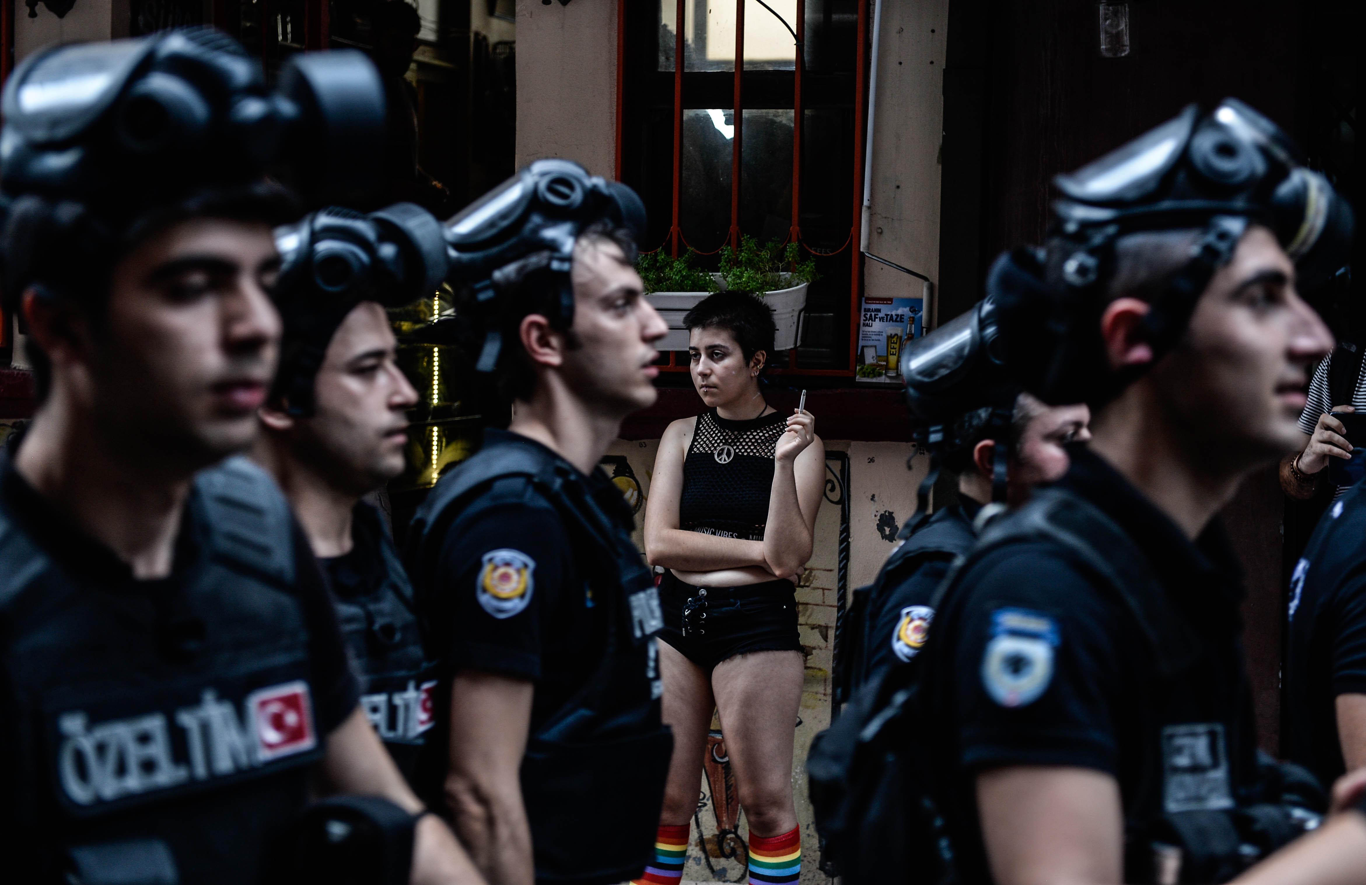 LGBT Pride Bans in Istanbul © Akin Celiktas