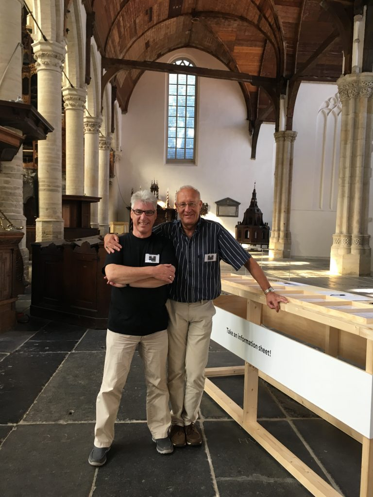 Ypke Broek and Henk Welsch, hosts at the 2016 exhibition